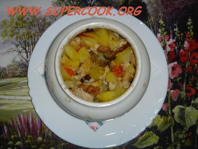 Постные блюда в горшочке рецепты с фото