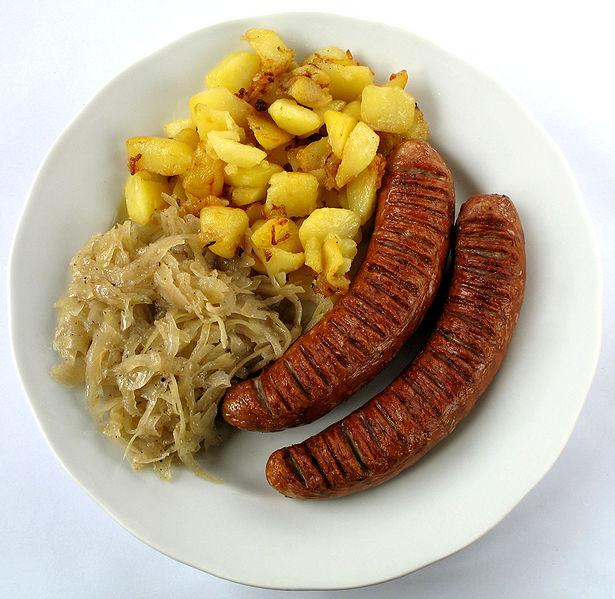 Bratwurst for Cuisine allemande
