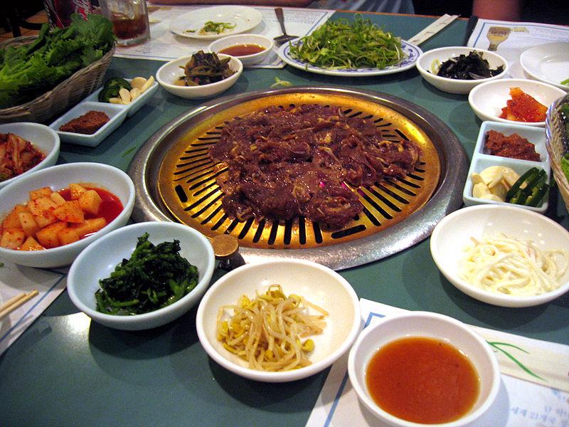 bulgogi and banchan bulgogi is a korean dish that usually consists of ...