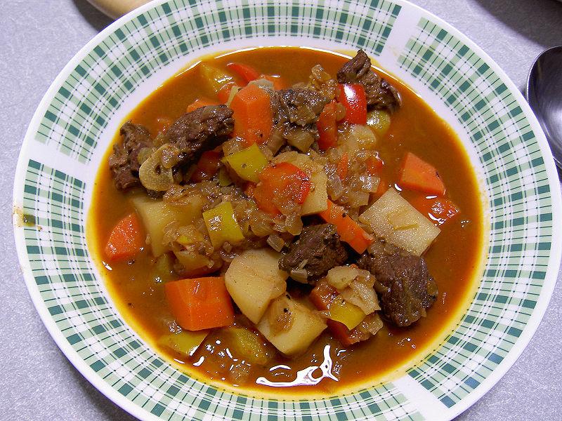 Goulash for Cuisine hongroise