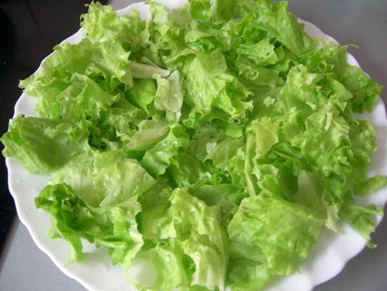 Лучик света - первый салат